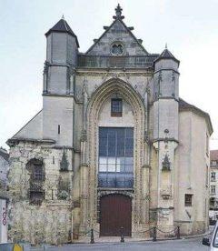 Kościół św.Furseya wLagny (Francja)
