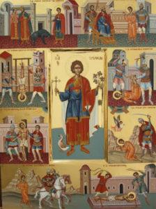 Życie iśmierć św.Tryfona