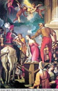Jacopo Ligozzi, Męczeństwo św.Doroty, 1590 r.