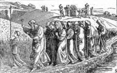 Dni krzyżowe - procesja