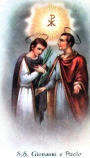 św. Jan zRzymu iśw.Paweł zRzymu