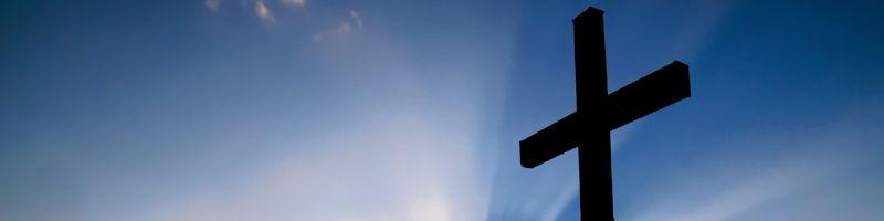 Baner z krzyżem