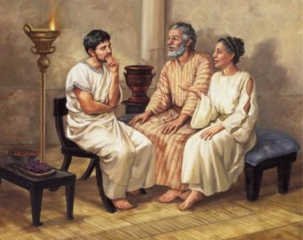 święci Akwila, Pryska iPaweł Ap.