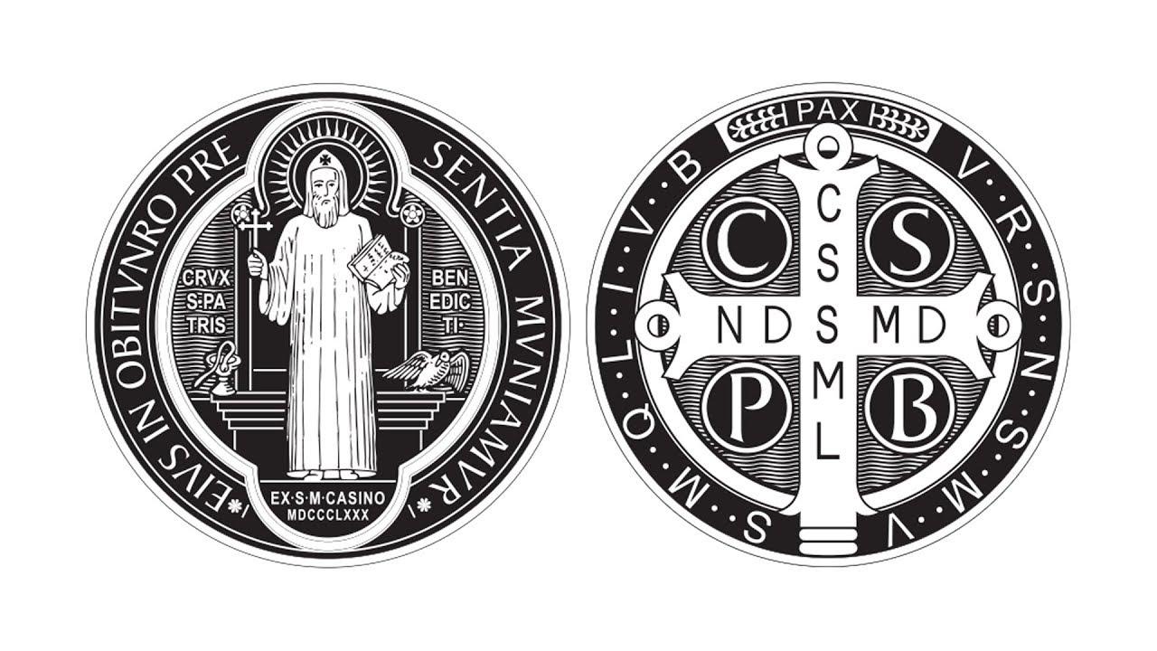 Medalik św.Benedykta zNursji