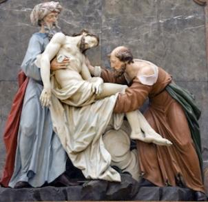 św. Nikodem iśw.Józef zArymatei