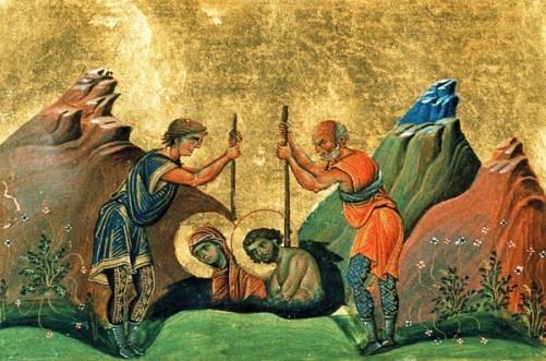 Męczeństwo świętych Darii iChryzanta