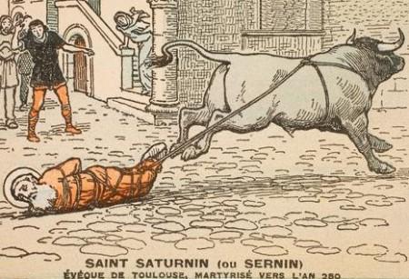 Męczeństwo św.Saturnina zTuluzy
